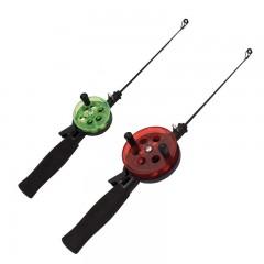 Ice fishing jigging rods EVA handles