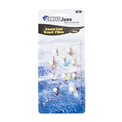 fishing flies, fly fishing flies, lure flies, dry flies, wet flies, flies for fishing, fly assortment, assorted flies, popper flies