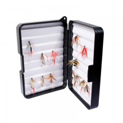 Fishing tackle fly box extra deep foam insert