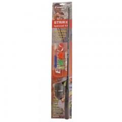 Fishing gear kit rod reel tackle spincast all purpose