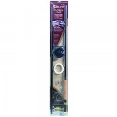 Emery Staurn fly fishing kit with 3 piece rod, graphite, two flies