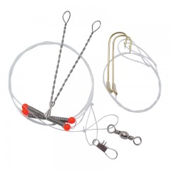 Fishing rigs for pike and pickerel fish in Canadian lakes and rivers - Fishing rigs worm harnesses | Floating, sabiki, walleye, pike, striper