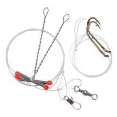 Fishing pickerel rig baitholder snelled Hooks