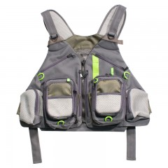 Fishing vests for men, women and youth, professional angler or fishing guide
