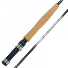 Emery Neptune fly fishing rod with stainless steel guides and hood
