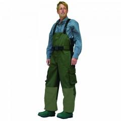 Rain wear bib fishing pants waterproof suspenders