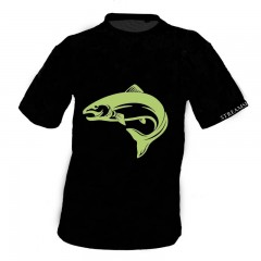 Streamside black T shirt
