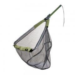Fishing gear equipment net folding travel aluminum tubing
