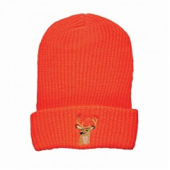Backwoods blaze orange knit winter touque