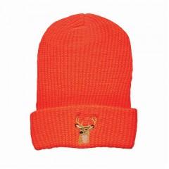 Hunting touques knit winter blaze orange acrylic