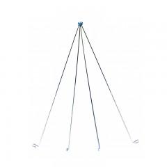 Fishing gear equipment smelt net bender frame steel rods