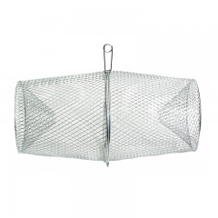 Fishing gear equipment minnow trap galvanized steel mesh wire