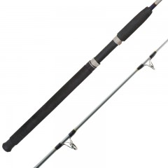 Solid boat fishing rod UAG guides