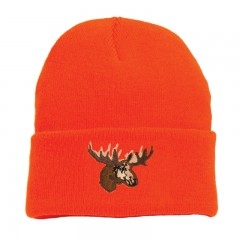 Blaze orange touques for hunting outdoors in Canada - Blaze orange touques for hunting outdoors in Canada