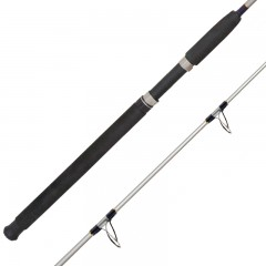 Emery Husky Big Game tubular glass boat rod with ALOX guides