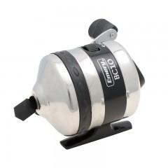 Spincast fishing reel brass pinion gear top mounted drag