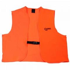 Hunting clothing apparel blaze orange safety vest buckle
