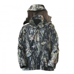Backwoods Predator pure camo heavyweight 4-in-1 hunting jacket with removable inner jacket and hood