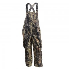 Hunting camo insulated bib pants water proof