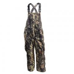 Backwoods Predator insulated camouflage hunting bib pants