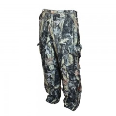 Camo hunting heavy pants storm flaps suspender buttons