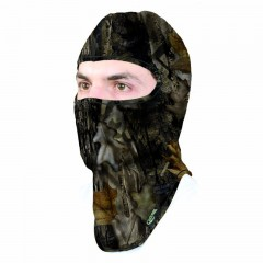 Backwoods pure camo hunting balaclava
