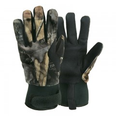 Backwoods Pure Camo waterproof hunting gloves