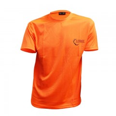 Blaze orange long sleeve and short sleeve tee shirts for hunting safely - Blaze orange long sleeve and short sleeve tee shirts for hunting safely