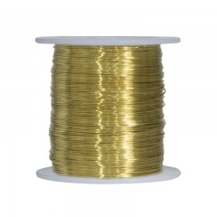 Backwoods brass 1LB spool hunting snare game trapping wire