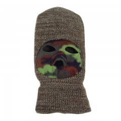 Backwoods camo hunting face mask