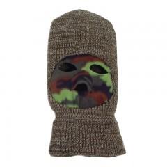 Backwoods camo hunting face mask