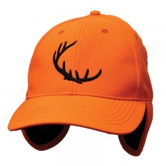 Blaze hunting cap ear warmer tabs