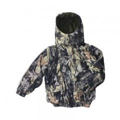 Backwoods Pure Camo insulated kids hunting jacket