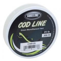 Cod Fishing line monofialment abraision resistant