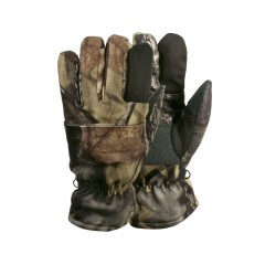 Hunting kids apparel gloves children camo trigger finger