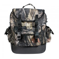 Camo hunting backpack waterproof rubber bottom