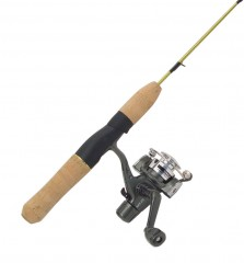 Ice fishing reels, rods, solid ice rods, wood jigging rods, ice reel and rod combos, ice anglers, tip up rigs and spreaders,  rod holders, bells creepers and claws, Swedish Pimple, icelines and ice lu