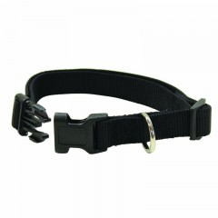 Black hunting collar for dogs
