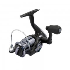 Spinning fishing reel front drag metal gears