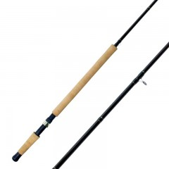 Streamside Heritage Coast float fishing rods with chromium D-ring guides