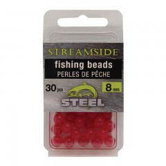 Fishing tackle beads for steelhead slamon
