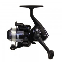 Ice fishing reels spinning pre spooled graphite