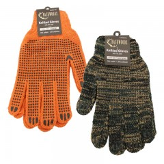 Knitted Dotted Gloves - 12 pk