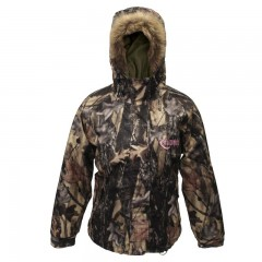Backwoods Huntress ladies camo midweight hunting jacket
