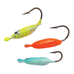 Ice fishing lure kits dipper durable