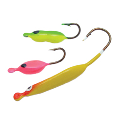 Ice fishing lure kits tear drop durable