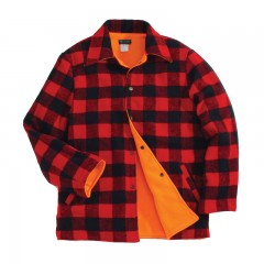 Canadian lumberjack reversible jacket blaze orange for hunting in Canada