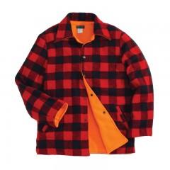 Canadian lumberjack reversible jacket blaze orange for hunting in Canada