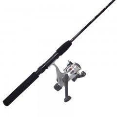 Fishing pre spooled spinning reel, rod combo