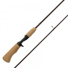 Emery Millenium Plus spin cast fishing rod with titanium T-ring guides